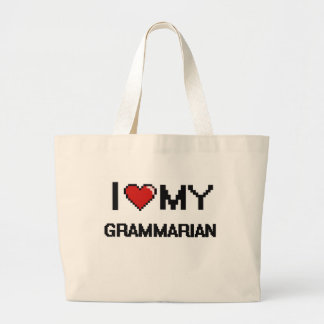 I love my Grammarian Jumbo Tote Bag