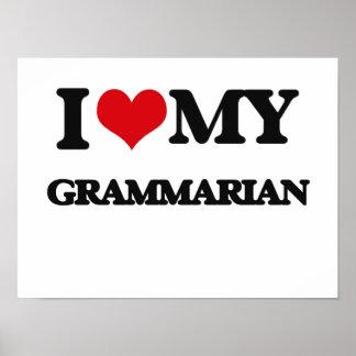 I love my Grammarian Posters