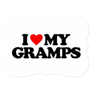 I LOVE MY GRAMPS CUSTOM INVITE
