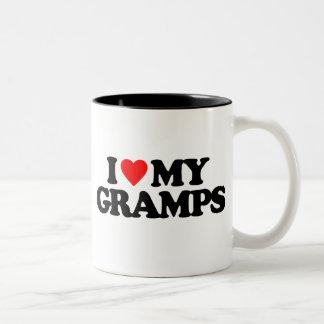 I LOVE MY GRAMPS Two-Tone COFFEE MUG