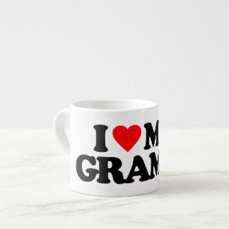 I LOVE MY GRAMPS 6 OZ CERAMIC ESPRESSO CUP