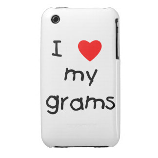 I love my grams iPhone 3 cases