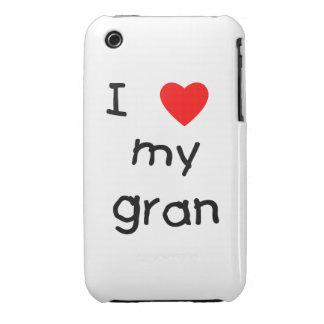 I love my gran iPhone 3 Case-Mate cases