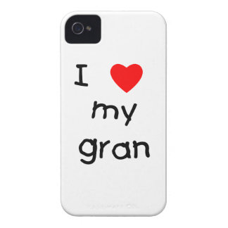 I love my gran iPhone 4 cover