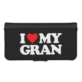 I LOVE MY GRAN iPhone 5 WALLET CASES