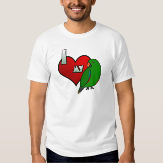 I Love my Grand Eclectus T-Shirt