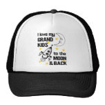 I Love My Grand Kids To The Moon And Back Trucker Hat