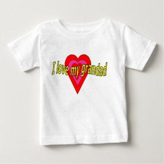I love my grandad baby T-Shirt