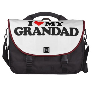 I LOVE MY GRANDAD BAGS FOR LAPTOP