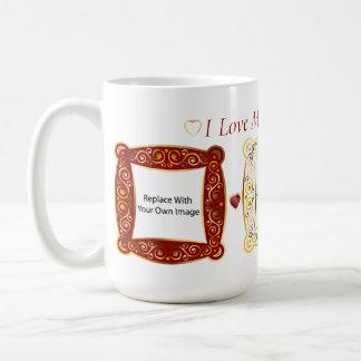 I Love My Grandchild! Cameo Picture Mug