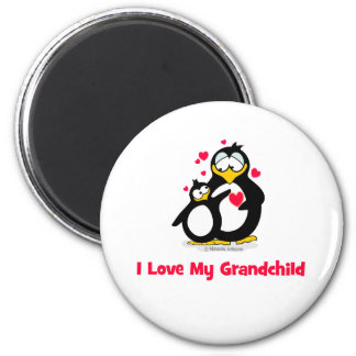 I love my grandchild refrigerator magnet