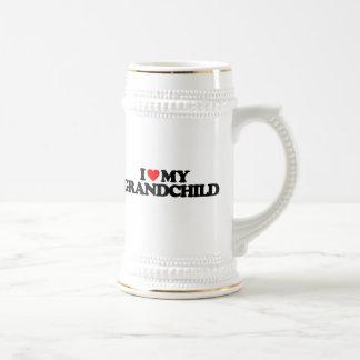I LOVE MY GRANDCHILD COFFEE MUGS