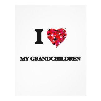 "I Love My Grandchildren 8.5"" X 11"" Flyer"
