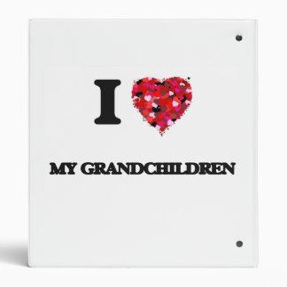 I Love My Grandchildren 3 Ring Binders
