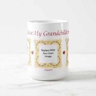 I Love My Grandchildren! Cameo Picture Mug #3