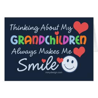 I Love My Grandchildren Card