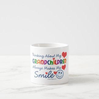 I Love My Grandchildren Espresso Cup