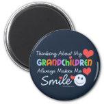I Love My Grandchildren Fridge Magnet