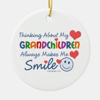 I Love My Grandchildren Christmas Ornament