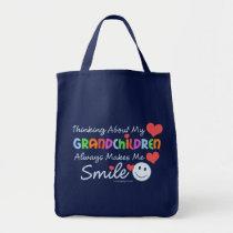 I Love My Grandchildren Tote Bag