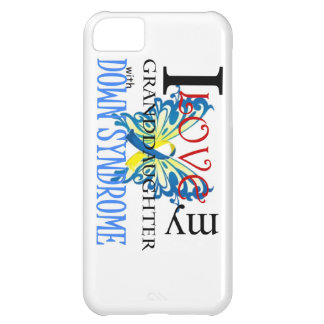 I Love My Granddaughter with Down Syndrome iPhone 5C Case