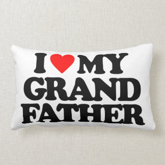 I LOVE MY GRANDFATHER THROW PILLOWS