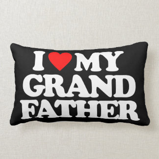 I LOVE MY GRANDFATHER THROW PILLOW