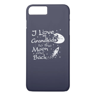 I Love My GrandKids to the Moon and Back iPhone 8 Plus/7 Plus Case