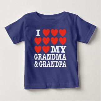 I Love My Grandma and Grandpa T-shirt