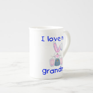 I love my grandma (boy bunny) tea cup