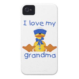 I love my grandma (boy ducky) iPhone 4 covers