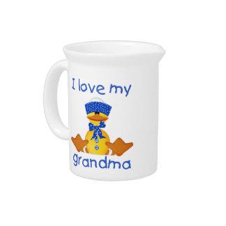 I love my grandma (boy ducky) drink pitchers