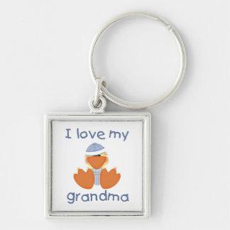 I love my grandma (boy ducky) keychain