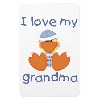 I love my grandma (boy ducky) magnet