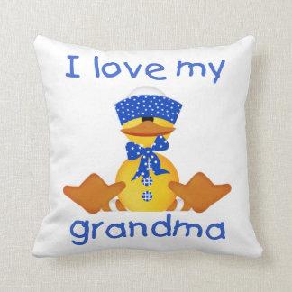 I love my grandma (boy ducky) pillows