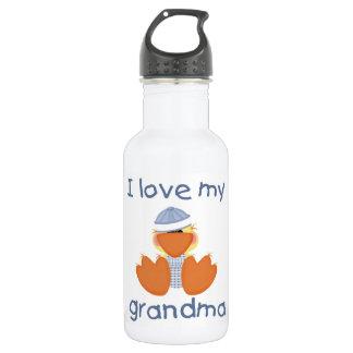 I love my grandma (boy ducky) water bottle