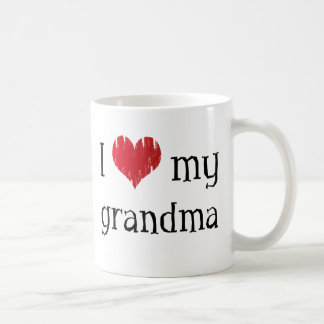 I love my grandma coffee mug