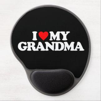 I LOVE MY GRANDMA GEL MOUSEPAD