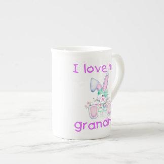 I love my grandma (girl bunny) tea cup