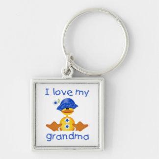 I love my grandma (girl ducky) keychain