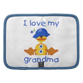I love my grandma (girl ducky) organizer