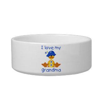 I love my grandma (girl ducky) pet water bowls