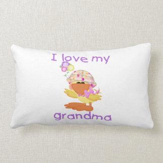 I love my grandma (girl ducky) pillow