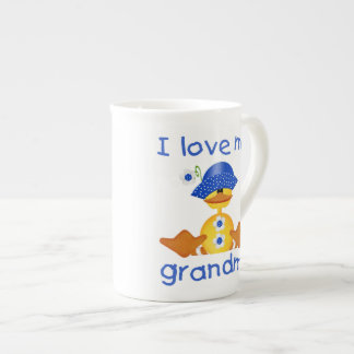 I love my grandma (girl ducky) porcelain mug
