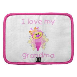I love my grandma (girl flutterby) organizer