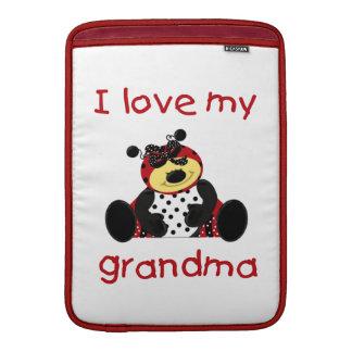 I love my grandma (girl ladybug) MacBook air sleeve