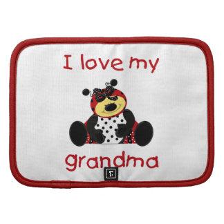I love my grandma (girl ladybug) organizers