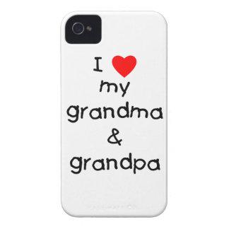 I love my grandma & grandpa iPhone 4 case