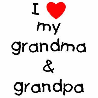 I love my grandma & grandpa statuette