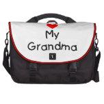 I love my grandma laptop bag